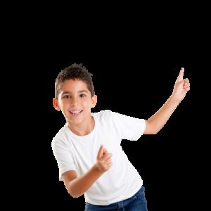 ילד רוקד